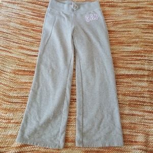 Girls 8 gap fleece pants joggers active wear